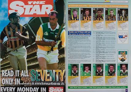 All Ireland Senior Hurling Championship - Final, .10.09.2000, 09.10.2000, 10th September 2000, .10092000AISHCF,.Senior Kilkenny v Offaly,.Minor Cork v Galway,.Kilkenny 5-15, Offaly 1-14, .The Star,