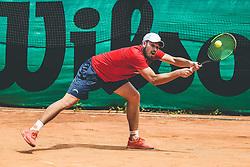 Jakob Aljaz Kaplja, Finale Telemach 1. moske clanske lige med TK Triglav Kranj in TK Terme Ptuj,  on June 27, 2021 in Kranj, Slovenia. Photo by Vid Ponikvar / Sportida