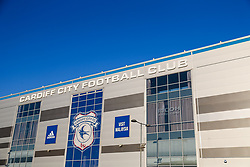 General View outside the stadium - Rogan/JMP - 06/11/2020 - Cardiff City Stadium - Cardiff, Wales - Cardiff City v Bristol City - Sky Bet Championship.