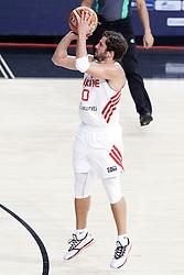 07.09.2014, Palau Sant Jordi, Barcelona, ESP, FIBA WM, Australien vs Türkei, Achtelfinale, im Bild Turkey's Kerem Tunceri // during FIBA Basketball World Cup Spain 2014 round of 16 match between Australia and Turkey at the Palau Sant Jordi in Barcelona, Spain on 2014/09/07. EXPA Pictures © 2014, PhotoCredit: EXPA/ Alterphotos/ Acero<br /> <br /> *****ATTENTION - OUT of ESP, SUI*****
