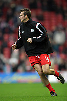 Fotball<br /> Premier League 30.11.2003<br /> Liverpool v Birmingham<br /> Dietmar Hamann - Liverpool<br /> Foto: Morten Olsen, Digitalsport