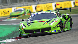 September 22, 2018 - Rinaldi Racing Ferrari 488 GT3 (Keilwitz/Parrow) at Ascari, following the teammate #333, during Qualifying session for Race 1 of International GT Open in Monza. (Credit Image: © Riccardo Righetti/ZUMA Wire)