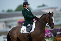 James Dwyer (IRL) - Orlando<br /> Individual Championship Test - Grade Ia<br /> London 2012 Paralympic Games<br /> © Hippo Foto - Jon Stroud