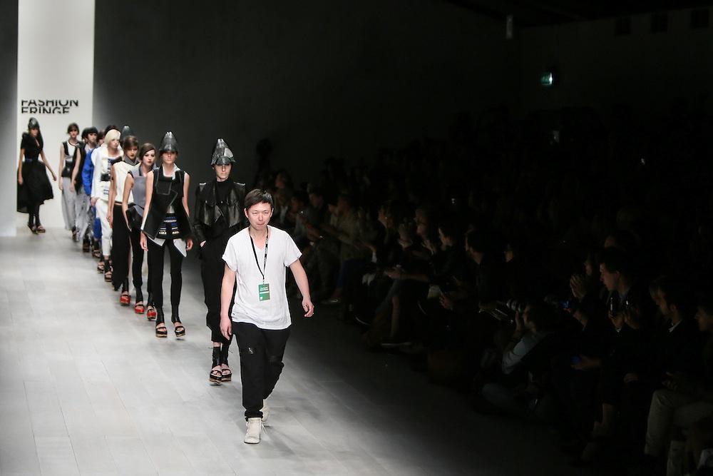 Fashion Fringe show during London Fashion Week, Spring/Summer 2013