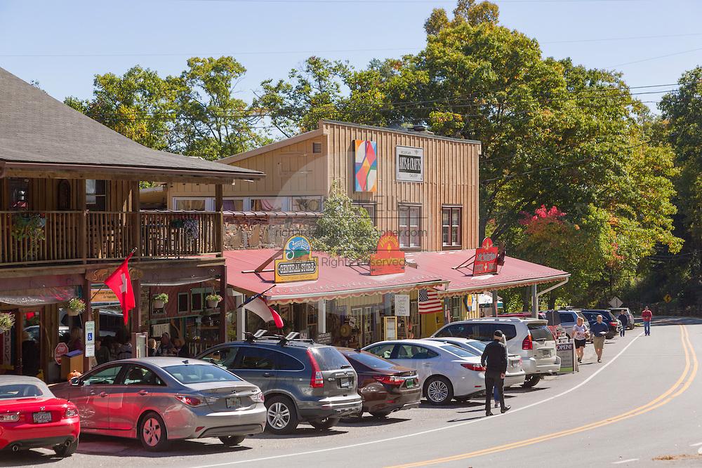The Blue Ridge mountain hamlet of Little Switzerland, North Carolina.