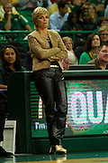 WACO, TX - DECEMBER 18: Baylor Bears head coach Kim Mulkey looks on against the Mississippi Lady Rebels on December 18 at the Ferrell Center in Waco, Texas.  (Photo by Cooper Neill) *** Local Caption *** Kim Mulkey