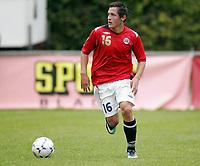 Fotball<br /> Landskamp G15<br /> Sverige v Norge 0:3<br /> Arvika<br /> 23.09.2010<br /> Foto: Morten Olsen, Digitalsport<br /> <br /> Stefan Aase  -  Florø