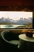 Lago (Lake) Pehoe, Parque Nacional Torres Del Paine, Patagonia, Chile<br />