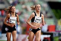 Friidrett , 15. juni 2017 ,  Diamond League , Bislett Games<br /> Camilla Ziesler   , NOR 1500 m