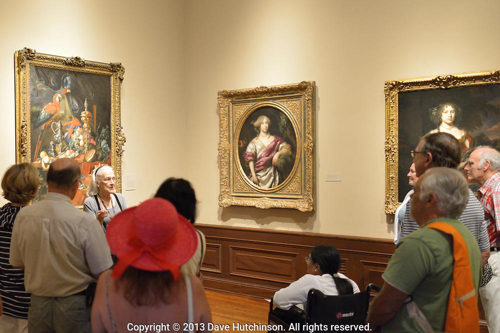 """Guided tour at The John and Mabel Ringling Museum (""""The Ringling""""), Sarasota, FL"""