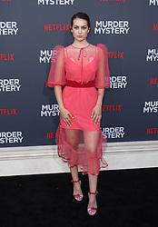 "LA Premiere Of Netflix's ""Murder Mystery"". 10 Jun 2019 Pictured: Emma Fuhrmann. Photo credit: Jaxon / MEGA TheMegaAgency.com +1 888 505 6342"