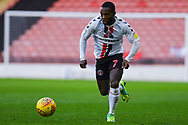 Mark Marshall of Charlton Athletic (7) attacks with the ball during the EFL Sky Bet League 1 match between Barnsley and Charlton Athletic at Oakwell, Barnsley, England on 29 December 2018.