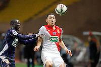 Lucas Ocampos / Sabaly Youssouf   - 21.01.2015 - Monaco / Evian Thonon   - Coupe de France 2014/2015<br />Photo : Sebastien Nogier / Icon Sport