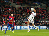 Tottenham's Dele Alli scoring his sides third goal during the Champions League group match at Wembley Stadium, London. Picture date December 7th, 2016 Pic David Klein/Sportimage