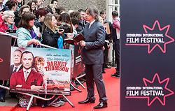 "Robert Carlyle. Opening Night Gala and World Premiere of ""The Legend of Barney Thompson"", Edinburgh International Film Festival 17 - 28 June 2015."