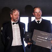 NLD/Amsterdam/20131101 - JFK Gala 2013, the Greatest Man 2013, prijsuitreiking aan winnaar Frank de Boer