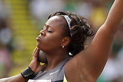 2012 USA Track & Field Olympic Trials: womens shot put, Michelle Carter