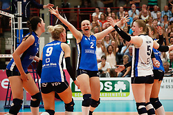 20180509 NED: Eredivisie Coolen Alterno - Sliedrecht Sport, Apeldoorn<br />Brechtje Kraaijvanger (2) of Sliedrecht Sport <br />©2018-FotoHoogendoorn.nl