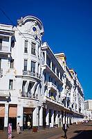 Maroc, Casablanca, Boulevard Mohammed V, immeuble Gallinari, 1924, par les Freres Suraqui // Morocco, Casablanca, Mohammed V boulevard, Gallinari building, 1924, Suraqui brothers architect