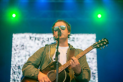 Kieran Fisher opens the Sunday Maiin Stage at Party at the Palace 2019.