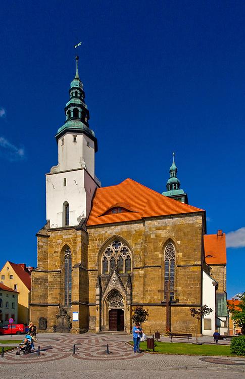 Kościół Narodzenia Najświętszej Marii Panny, Złotoryja, Polska<br /> Church of the Nativity of the Virgin Mary in Złotoryja, Poland