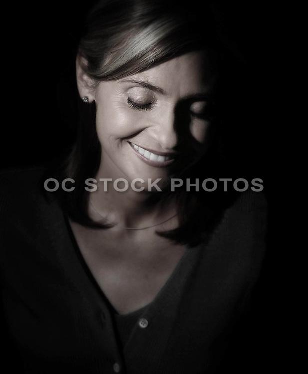 Peaceful Happy Woman