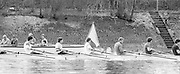 London. United Kingdom.  1987 Pre Fixture, Varsity Boat Race. National Squad vs Cambridge University BC on the Championship Course Mortlake to Putney. River Thames.  Saturday 21.03.1987<br /> <br /> [Mandatory Credit: Peter SPURRIER/Intersport images]<br /> <br /> National Squad, left to right. John GARRETT, Martin CROSS, Andy HOLMES, Steve REDGRAVE, Adam CLIFT, Richard STANHOPE. 19870321 Pre Boat Race fixture, National Squard vs Cambridge UBC, London UK