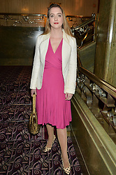 DAISY DE VILLENEUVE at the WGSN Global Fashion Awards 2015 held at The Park Lane Hotel, Piccadilly, London on 14th May 2015.