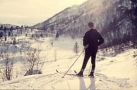 A man enjoying the scenery