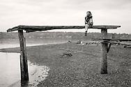 daughter on bench at Lisabuella Park