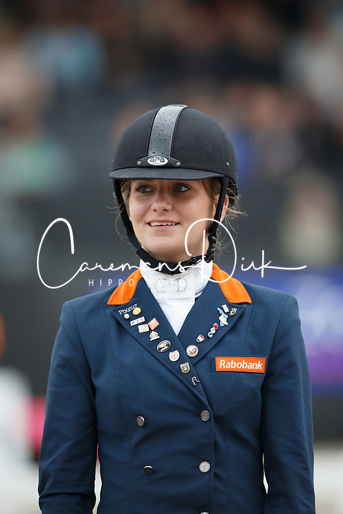 Bos Rosalie, (NED)<br /> Young Rider Kür Final<br /> Dutch Championship Dressage - Ermelo 2015<br /> © Hippo Foto - Dirk Caremans<br /> 19/07/15