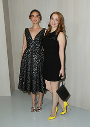 LOS ANGELES, CA - OCTOBER 14: Celebrity arrival at the Hammer Museum 15th Annual Gala in the Garden with Generous Support from Bottega Veneta on October 14, 2017 in Los Angeles, California. 14 Oct 2017 Pictured: Jess Weixler, Jessica Chastain. Photo credit: @parisamichelle / MEGA TheMegaAgency.com +1 888 505 6342