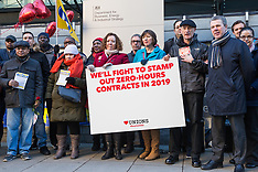 2019-02-14 Valentine's Day PCS strike at BEIS