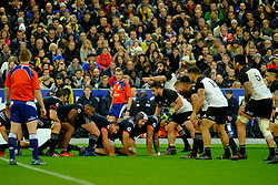 November 11, 2017 - Saint Denis, Seine Saint Denis, France - the French scrum in action during the friendly match between France and New Zealand at the Stade de France - St Denis - France.New Zealand beats France 38-18 (Credit Image: © Pierre Stevenin via ZUMA Wire)