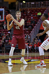 26 November 2016:  Aaron Brennan during an NCAA  mens basketball game between the IUPUI Jaguars the Illinois State Redbirds in a non-conference game at Redbird Arena, Normal IL