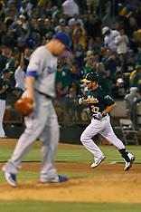 20120620 - Los Angeles Dodgers at Oakland Athletics