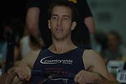 2005 British Indoor Rowing Championships, Graham BENTON. in the final 500 meters held at the  National Indoor Arena,   Birmingham, ENGLAND,    20.11.2005   © Peter Spurrier/Intersport Images - email images@intersport-images..[Mandatory Credit Peter Spurrier/ Intersport Images]