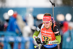 March 16, 2019 - –Stersund, Sweden - 190316 Polona Klemencic of Slovenia competes in the Women's 4x6 km Relay during the IBU World Championships Biathlon on March 16, 2019 in Östersund..Photo: Petter Arvidson / BILDBYRÃ…N / kod PA / 92268 (Credit Image: © Petter Arvidson/Bildbyran via ZUMA Press)