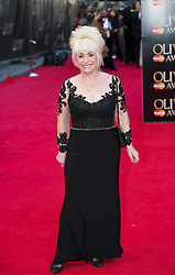 The Laurence Olivier Awards - Red Carpet Arrivals. Barbara Windsor attends The Laurence Olivier Awards at the Royal Opera House, London, United Kingdom. Sunday, 13th April 2014. Picture by Daniel Leal-Olivas / i-Images
