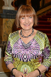 DAME TESSA JOWELL at the LDNY Fashion Show and WIE Award Gala sponsored by Maserati held at The Goldsmith's Hall, Foster Lane, City of London on 27th April 2015.