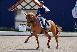 HAGEN a.T.W. - Horses and Dreams meets Japan Sports Edition 2021<br /> <br /> SADO Kazuki (JPN), Barolo<br /> CDI 4* Grand Prix<br /> Qualifikation für Grand Prix Special<br /> Preis des Gestütes Vorwerk<br /> <br /> Hagen a.T.W., Hof Kasselmann<br /> 23. April 2021<br /> © www.sportfotos-lafrentz.de/Stefan Lafrentz
