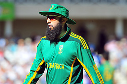 South Africa's Hashim Amla during the Fifth NatWest One Day International at Trent Bridge, Nottingham.