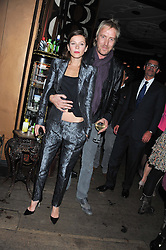 RHYS IFANS and ANNA FRIEL at a party to celebrate the launch of the Tara Smith Vegan Haircare range held at Sketch, 9 Conduit Street, London on 26th September 2012.