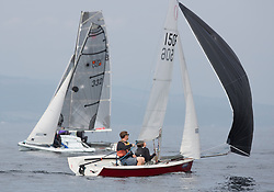 Largs Regatta Festival 2019<br /> <br /> RS200 with Robbie Burns and Vicki Simpson