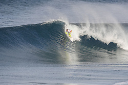 October 12, 2017 - Josh Kerr of Australia will surf in Round Two of the 2017 Quiksilver Pro France after placing third in Heat 3 of Round One at Hossegor. (Credit Image: © WSL via ZUMA Press)