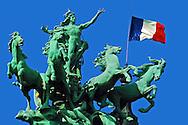 Liberte Egalite Fraternite, Liberty Equality Fraternity Paris France