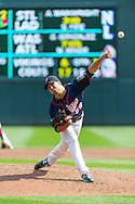 Scott Diamond #58 of the Minnesota Twins pitches during a game against the Chicago White Sox on September 16, 2012 at Target Field in Minneapolis, Minnesota.  The White Sox defeated the Twins 9 to 2.  Photo: Ben Krause