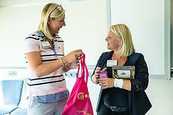 Nina Kokelj, Katarina Dukelic, Podjetniski zajtrk skupine BNI Mostovi, on August 21, 2019 in GZS, Ljubljana, Slovenia. Photo by Vid Ponikvar / Sportida