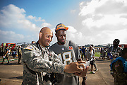 January 27 2016: Cincinnati Bengals AJ Green poses for a photo during the Pro Bowl Draft at Wheeler Army Base on Oahu, HI. (Photo by Aric Becker/Icon Sportswire)