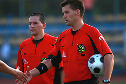 Referee Saso Habjanic at 7th Round of PrvaLiga Telekom Slovenije between FC Koper vs NK Domzale, on August, 2008, in SRC Bonifika, in Koper, Slovenia. (Photo by Vid Ponikvar / Sportal Images)